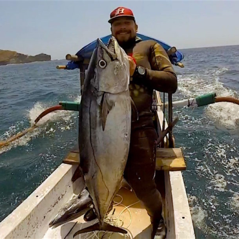 Bali Spearfishing Dogtooth Tuna