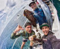 Bali Spearfishing, Wahoo, Flowery cod, Baramundi cod, Giant trevally