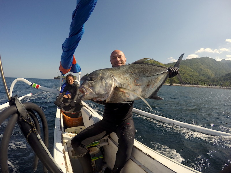 Giant Trevally North Bali.