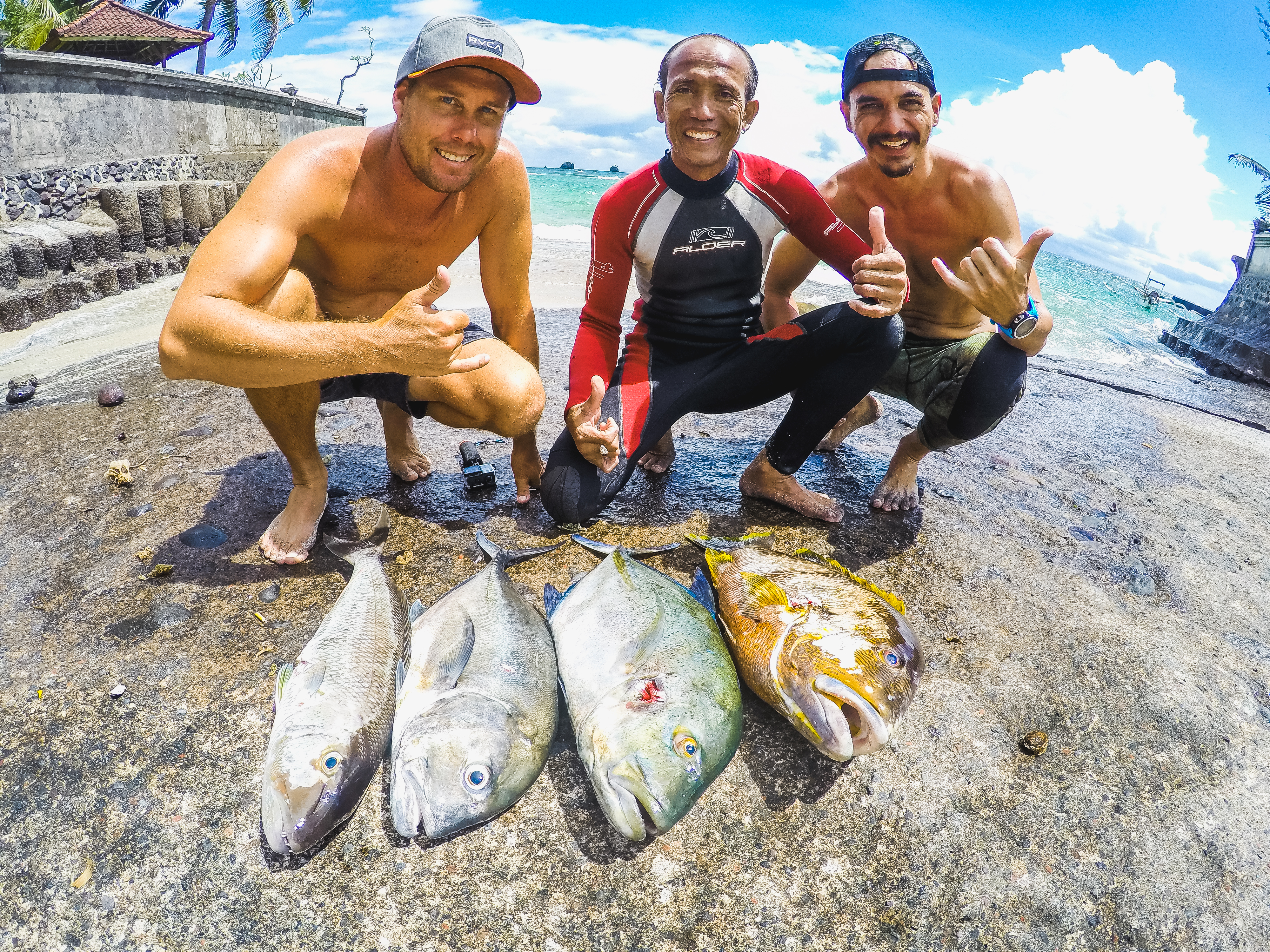 Bali Spearfishing Dogtooth Tuna