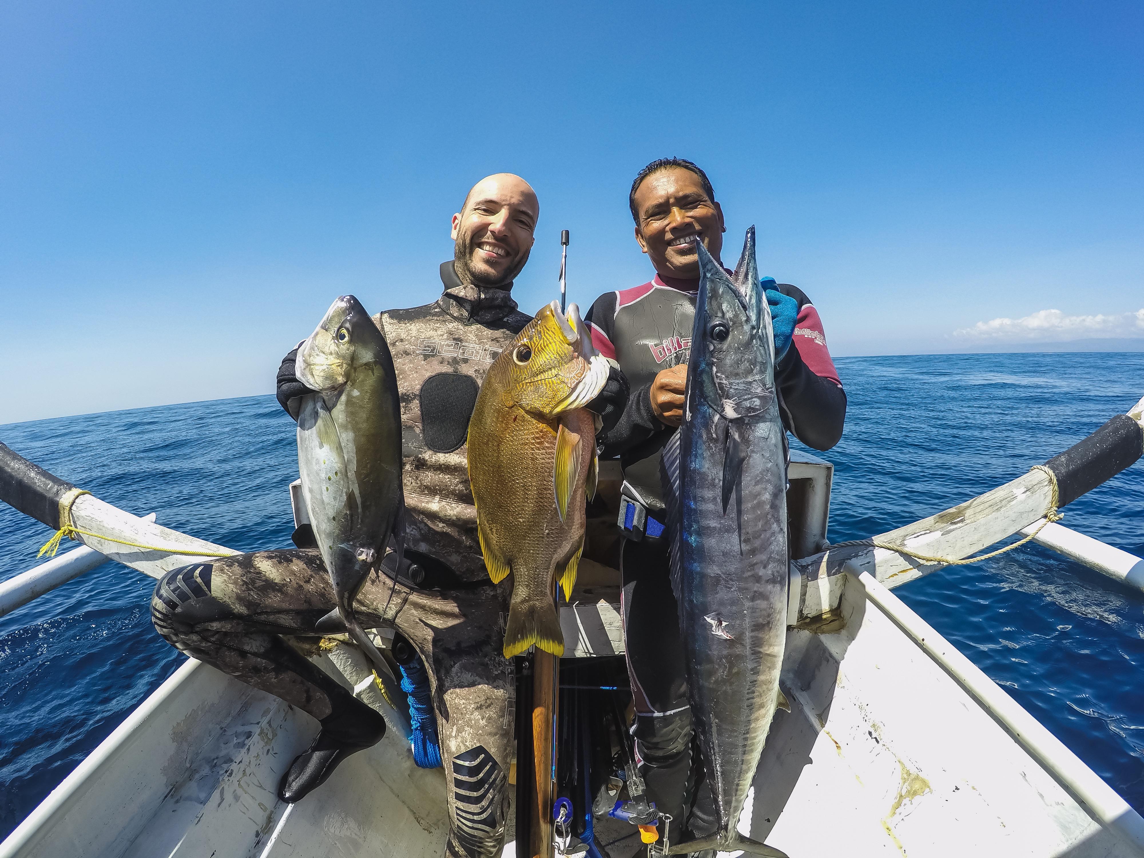 bali spearfishing, wahoo, Maori seaperch