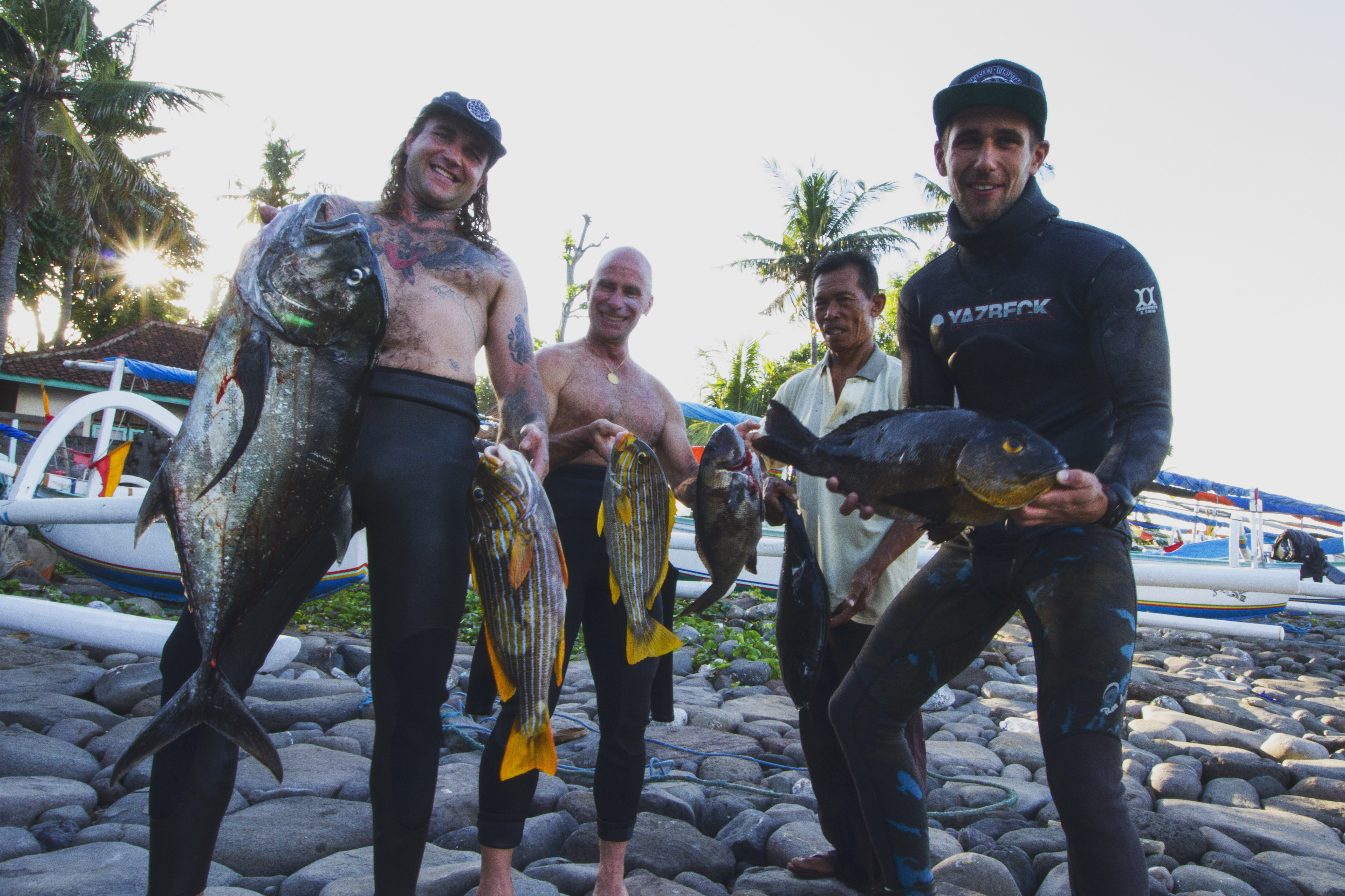 bali spearfishing giant trivially and midnight snapper