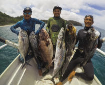 Bali Spearfishing Midnight Snapper, Giant Trevally and Spanish Mackerel
